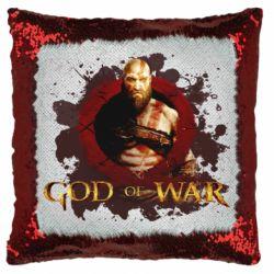 Подушка-хамелеон God of War
