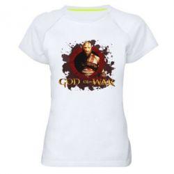 Жіноча спортивна футболка God of War