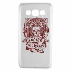 Чехол для Samsung A3 2015 God save the queen monochrome