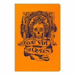 Блокнот А5 God save the queen monochrome