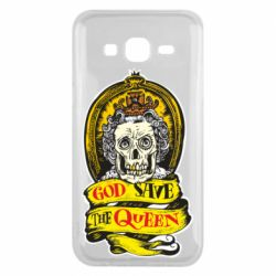 Чохол для Samsung J5 2015 God save the queen