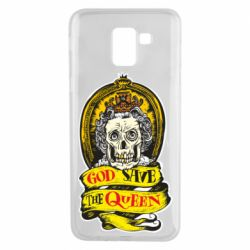 Чохол для Samsung J6 God save the queen