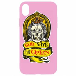 Чохол для iPhone XR God save the queen