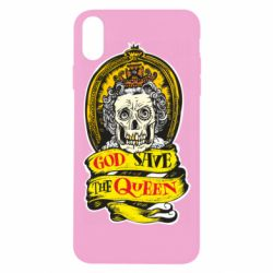 Чохол для iPhone Xs Max God save the queen