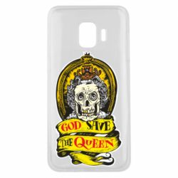 Чохол для Samsung J2 Core God save the queen