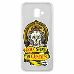 Чохол для Samsung J6 Plus 2018 God save the queen