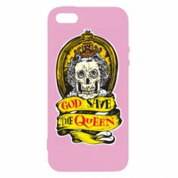 Чохол для iphone 5/5S/SE God save the queen