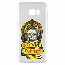 Чохол для Samsung S7 EDGE God save the queen