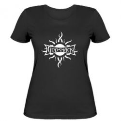 Женская футболка Godsmack