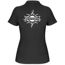Женская футболка поло Godsmack - FatLine