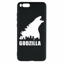 Чехол для Xiaomi Mi Note 3 Godzilla and city - FatLine