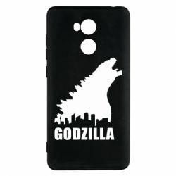 Чехол для Xiaomi Redmi 4 Pro/Prime Godzilla and city - FatLine