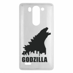 Чехол для LG G3 mini/G3s Godzilla and city - FatLine