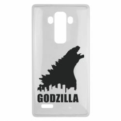 Чехол для LG G4 Godzilla and city - FatLine