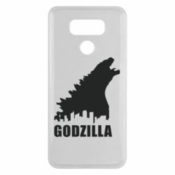 Чехол для LG G6 Godzilla and city - FatLine