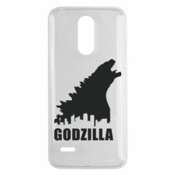 Чехол для LG K8 2017 Godzilla and city - FatLine