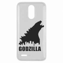 Чехол для LG K10 2017 Godzilla and city - FatLine