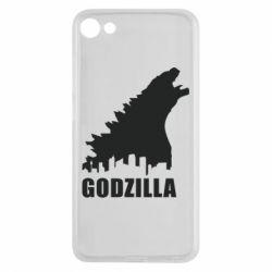 Чехол для Meizu U10 Godzilla and city - FatLine