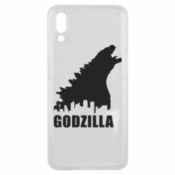 Чехол для Meizu E3 Godzilla and city - FatLine