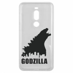 Чехол для Meizu V8 Pro Godzilla and city - FatLine