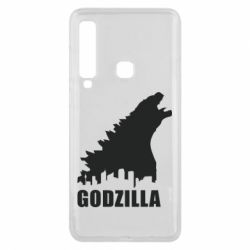 Чехол для Samsung A9 2018 Godzilla and city - FatLine