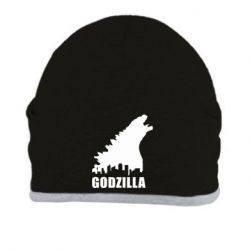 Шапка Godzilla and city - FatLine