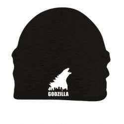 Шапка на флисе Godzilla and city - FatLine