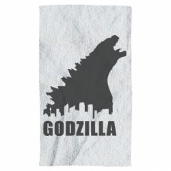 Полотенце Godzilla and city - FatLine
