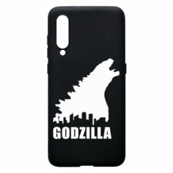 Чехол для Xiaomi Mi9 Godzilla and city - FatLine