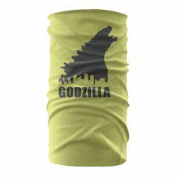 Бандана-труба Godzilla and city