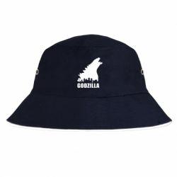 Панама Godzilla and city