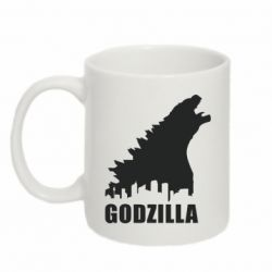 Кружка 320ml Godzilla and city - FatLine