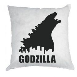 Подушка Godzilla and city - FatLine