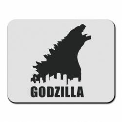 Коврик для мыши Godzilla and city - FatLine