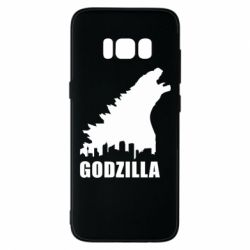 Чехол для Samsung S8 Godzilla and city - FatLine