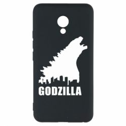 Чехол для Meizu M5 Godzilla and city - FatLine