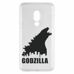 Чехол для Meizu 15 Godzilla and city - FatLine