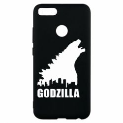 Чехол для Xiaomi Mi A1 Godzilla and city - FatLine