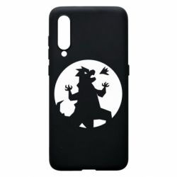 Чехол для Xiaomi Mi9 Godzilla and moon
