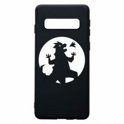 Чохол для Samsung S10 Godzilla and moon
