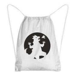 Рюкзак-мешок Godzilla and moon