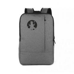 Рюкзак для ноутбука Godzilla and moon