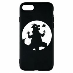 Чохол для iPhone 8 Godzilla and moon
