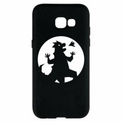 Чехол для Samsung A5 2017 Godzilla and moon