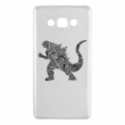 Чохол для Samsung A7 2015 Godzilla from the newspapers