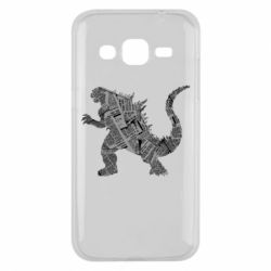 Чохол для Samsung J2 2015 Godzilla from the newspapers