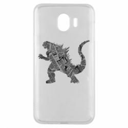 Чохол для Samsung J4 Godzilla from the newspapers