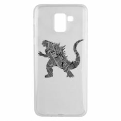 Чохол для Samsung J6 Godzilla from the newspapers