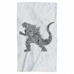 Рушник Godzilla from the newspapers