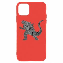 Чохол для iPhone 11 Godzilla from the newspapers